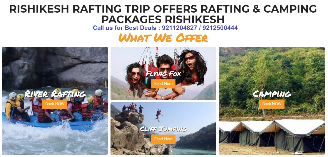 rishikesh adventure tour packages